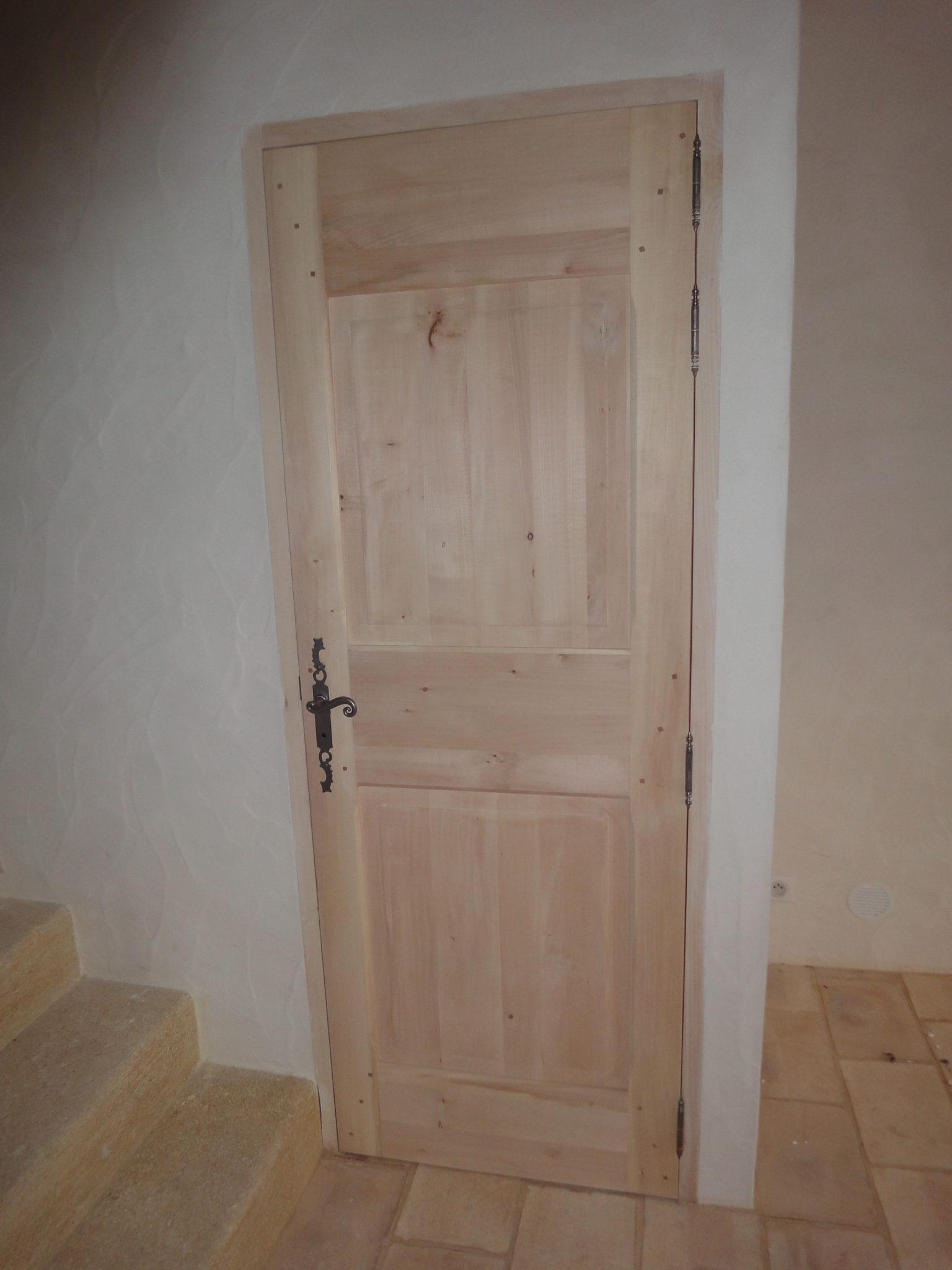 porte interieure bois