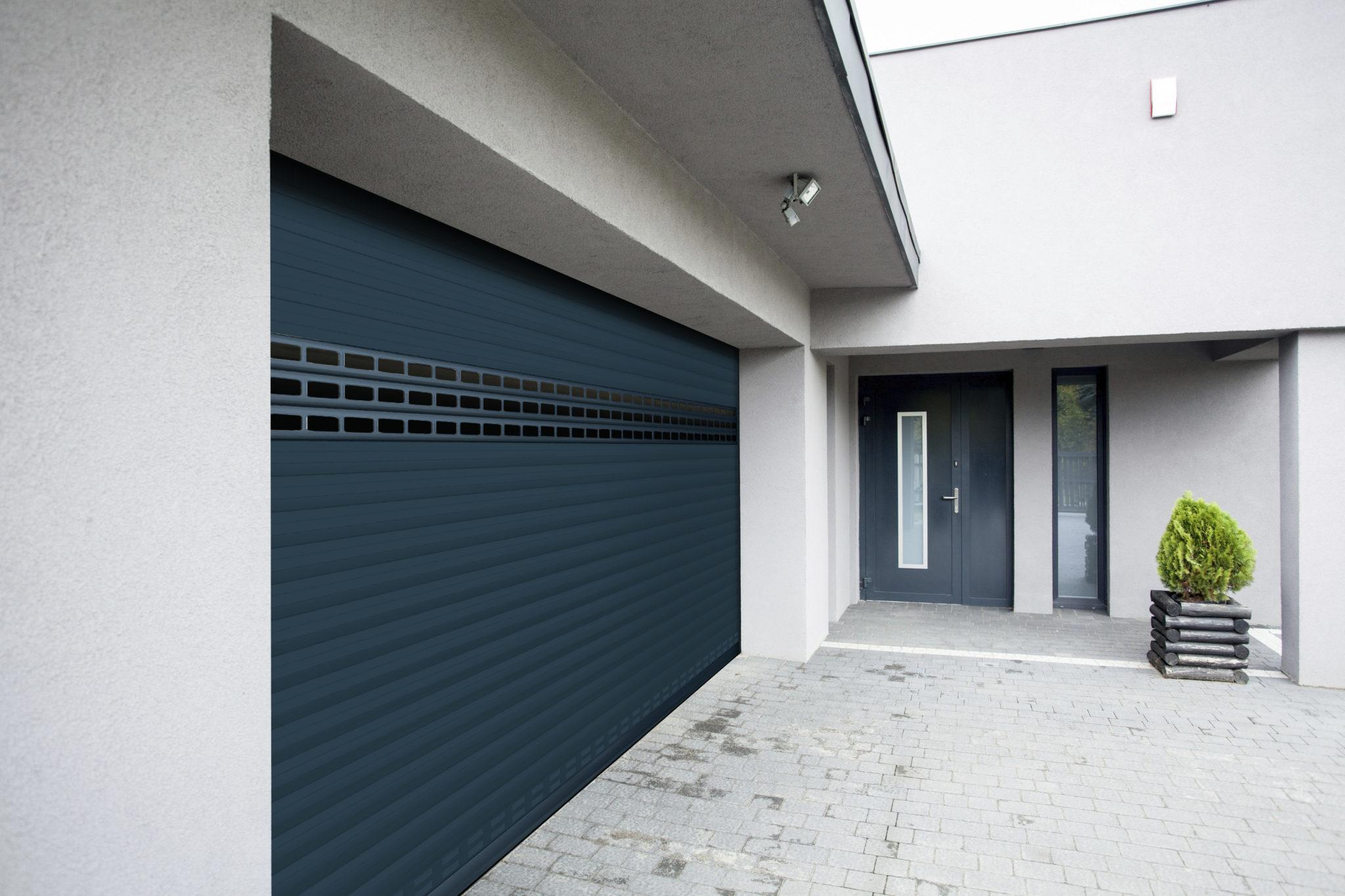 porte garage sectionnelle enroulable