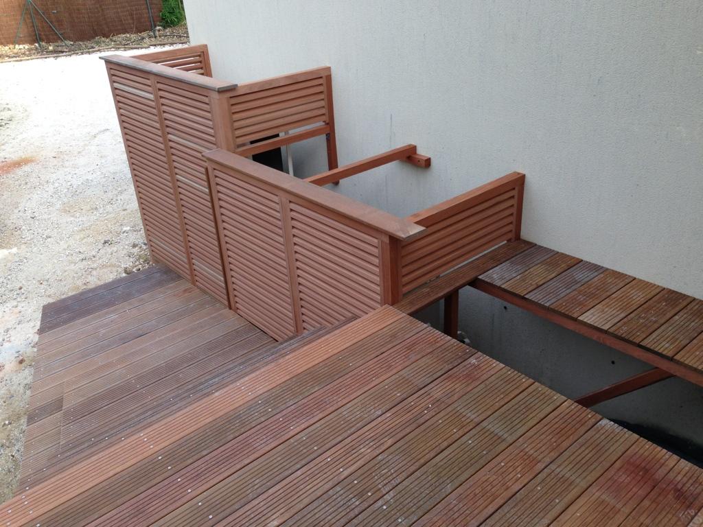 terrasse bois sur mesure